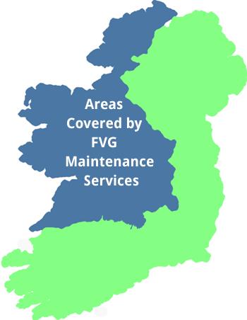 Small Map Of Ireland.Property Maintenance Galway Mayo Sligo Roscommon North West